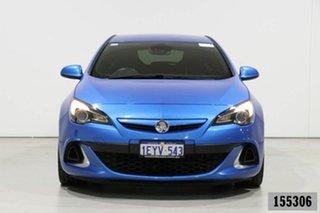 2015 Holden Astra PJ VXR Blue 6 Speed Manual Hatchback.