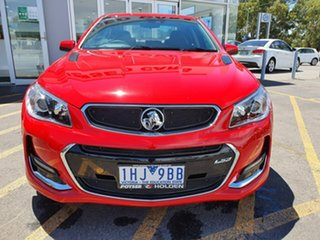 2016 Holden Commodore VF II MY16 SS V Redline Red 6 Speed Sports Automatic Sedan.
