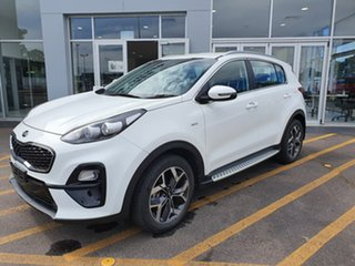 2018 Kia Sportage QL MY18 AO Edition AWD White 6 Speed Sports Automatic Wagon.