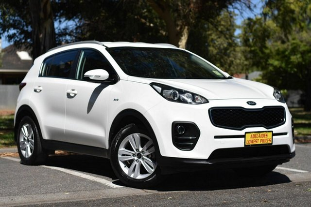 Used Kia Sportage QL MY16 Si AWD Melrose Park, 2016 Kia Sportage QL MY16 Si AWD White 6 Speed Sports Automatic Wagon