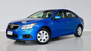 2011 Holden Cruze JG CD Blue 6 Speed Sports Automatic Sedan.