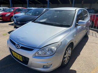 2008 Hyundai i30 FD SX Silver 5 Speed Manual Hatchback.