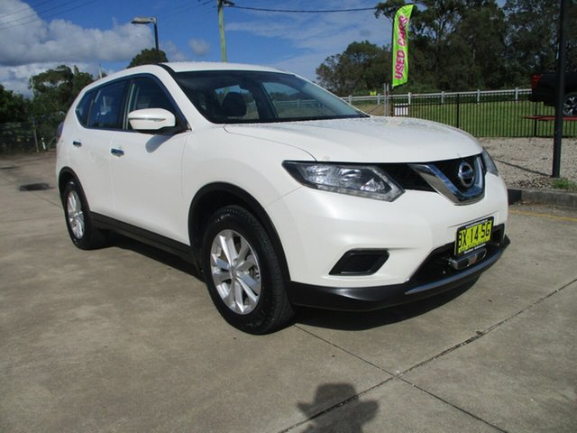 Used Nissan X-Trail T32 TS 4WD Glendale, 2014 Nissan X-Trail T32 TS 4WD White 6 Speed Manual Wagon
