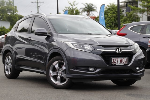 Used Honda HR-V MY16 VTi-S Mount Gravatt, 2016 Honda HR-V MY16 VTi-S Grey 1 Speed Constant Variable Hatchback