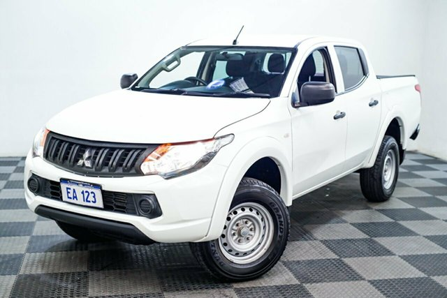 Used Mitsubishi Triton MQ MY18 GLX Double Cab 4x2 Edgewater, 2018 Mitsubishi Triton MQ MY18 GLX Double Cab 4x2 White 5 Speed Sports Automatic Utility