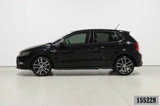 2017 Volkswagen Polo 6R MY17 GTi Black 7 Speed Auto Direct Shift Hatchback