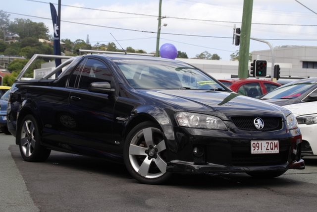 Used Holden Ute VE SS V Mount Gravatt, 2007 Holden Ute VE SS V Black 6 Speed Sports Automatic Utility