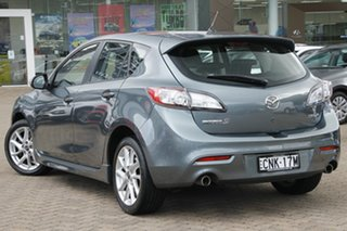 2013 Mazda 3 BM SP25 Grey 6 Speed Manual Hatchback.