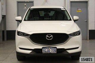 2017 Mazda CX-5 MY17.5 (KF Series 2) Maxx (4x2) White 6 Speed Automatic Wagon.