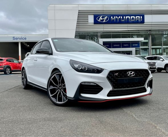 New Hyundai i30 PDe.3 MY20 N Performance Lux S.Roof South Melbourne, 2020 Hyundai i30 PDe.3 MY20 N Performance Lux S.Roof Polar White 6 Speed Manual Fastback