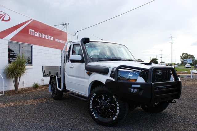 New Mahindra Pik-Up 4x4 Bundaberg, 2021 Mahindra Pik-Up S6+ 4x4 White 6 Speed Manual Utility