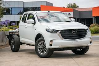 2020 Mazda BT-50 TFS40J XT Freestyle Ice White 6 Speed Manual Cab Chassis.
