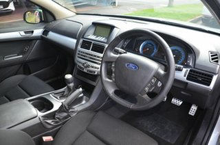 2008 Ford Falcon FG XR6T Silver 6 Speed Manual Utility