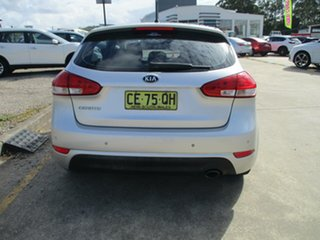 2013 Kia Cerato TD MY13 S Silver 6 Speed Sports Automatic Hatchback