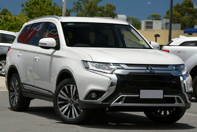 New Mitsubishi Outlander ZL MY21 LS AWD Wantirna South, 2020 Mitsubishi Outlander ZL MY21 LS AWD White 6 Speed Constant Variable Wagon