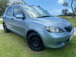 2005 Mazda 2 DY10Y1 Neo Blue 4 Speed Automatic Hatchback.