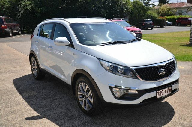 Used Kia Sportage SL Series 2 MY15 SLi(AWD) Toowoomba, 2015 Kia Sportage SL Series 2 MY15 SLi(AWD) White 6 Speed Automatic Wagon