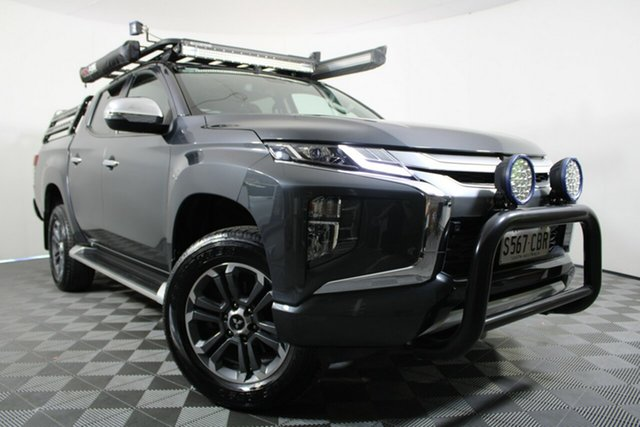 Used Mitsubishi Triton MR MY19 GLS Double Cab Wayville, 2019 Mitsubishi Triton MR MY19 GLS Double Cab Graphite 6 Speed Sports Automatic Utility