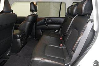 2019 Nissan Patrol Y62 Series 4 TI White 7 Speed Sports Automatic Wagon