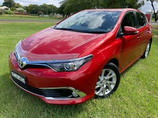 2016 Toyota Corolla ZRE182R Ascent Sport S-CVT Wildfire 7 Speed Constant Variable Hatchback.