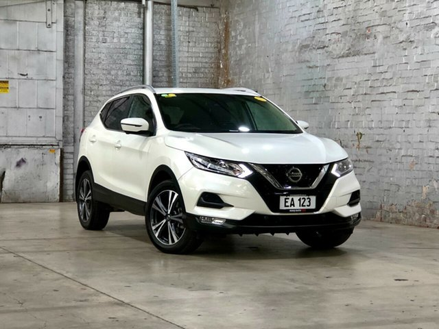 Used Nissan Qashqai J11 Series 3 MY20 ST-L X-tronic Mile End South, 2019 Nissan Qashqai J11 Series 3 MY20 ST-L X-tronic White 1 Speed Constant Variable Wagon