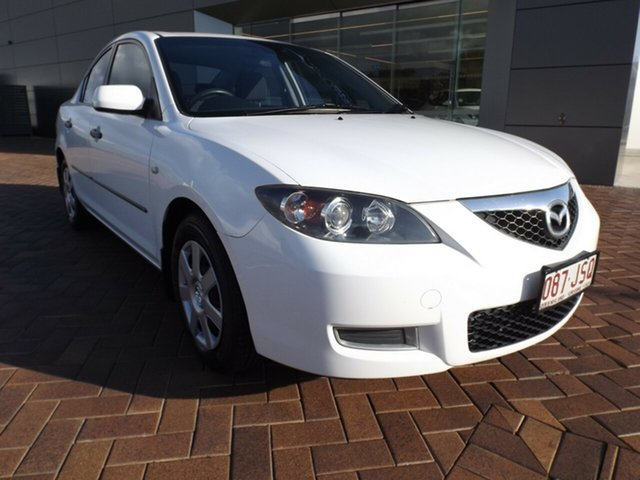 Used Mazda 3 BK10F2 Neo Toowoomba, 2006 Mazda 3 BK10F2 Neo White 4 Speed Sports Automatic Sedan