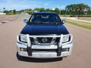 2008 Nissan Navara D40 ST-X Black 6 Speed Manual Utility.
