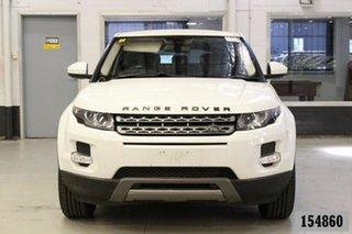 2014 Land Rover Evoque LV MY14 TD4 Pure White 9 Speed Automatic Wagon.