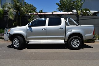2008 Toyota Hilux KUN26R MY08 SR5 Silver 4 Speed Automatic Utility.