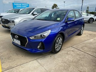 2020 Hyundai i30 PD2 MY20 Active Intense Blue 6 Speed Sports Automatic Hatchback