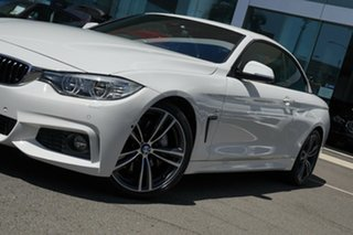 2016 BMW 440i F32 MY16.5 40I Alpine White 8 Speed Automatic Convertible.