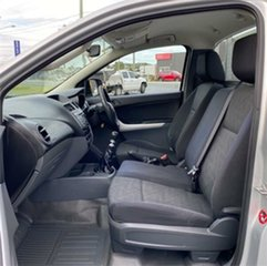 2013 Mazda BT-50 UP0YD1 XT Silver 6 Speed Manual Cab Chassis