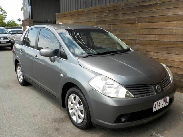Used Nissan Tiida C11 ST Labrador, 2006 Nissan Tiida C11 ST Grey 4 Speed Automatic Sedan