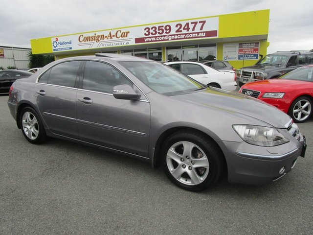Used Honda Legend 4th Gen Kedron, 2007 Honda Legend 4th Gen Grey 5 Speed Sports Automatic Sedan