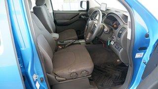 2009 Nissan Navara D40 ST-X Blue 5 Speed Automatic Utility