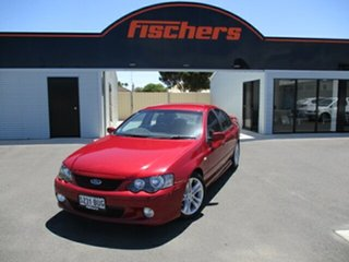 2006 Ford Falcon BF XR6 Burgundy 6 Speed Sports Automatic Sedan.