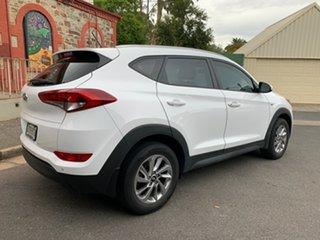 2017 Hyundai Tucson TL2 MY18 Active 2WD Pure White 6 Speed Sports Automatic Wagon.