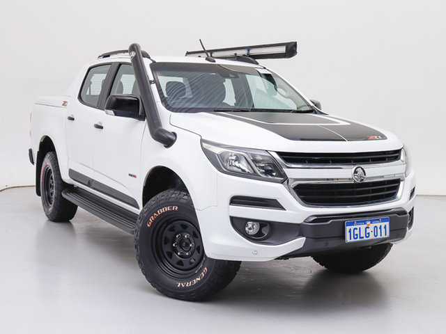 Used Holden Colorado RG MY17 Z71 (4x4), 2017 Holden Colorado RG MY17 Z71 (4x4) White 6 Speed Manual Crew Cab Pickup