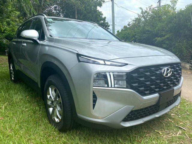 New Hyundai Santa Fe Tm.v3 MY21 DCT Mount Gravatt, 2020 Hyundai Santa Fe Tm.v3 MY21 DCT Typhoon Silver 8 Speed Sports Automatic Dual Clutch Wagon