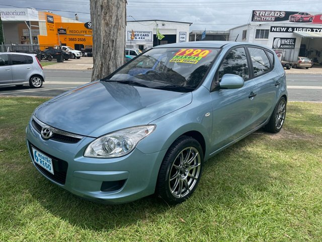 Used Hyundai i30 FD MY10 SLX Clontarf, 2010 Hyundai i30 FD MY10 SLX Blue 5 Speed Manual Hatchback