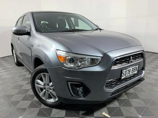2014 Mitsubishi ASX XB MY15 LS 2WD Titanium 6 Speed Constant Variable Wagon.