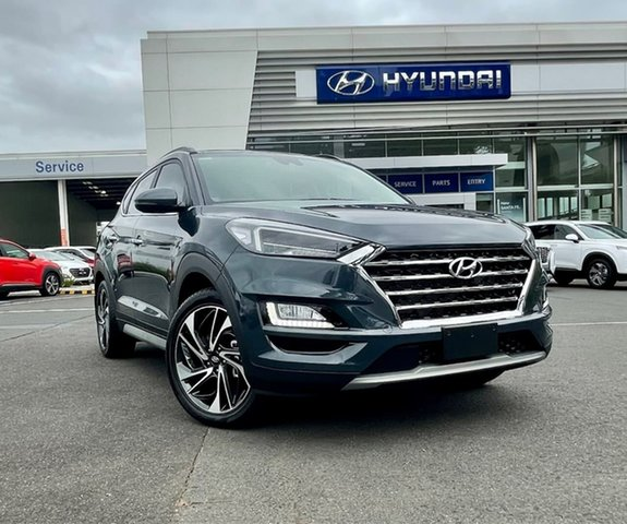 New Hyundai Tucson TL3 MY21 Highlander (AWD) South Melbourne, 2020 Hyundai Tucson TL3 MY21 Highlander (AWD) Dusk Blue 8 Speed Automatic Wagon