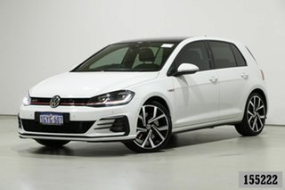 2019 Volkswagen Golf AU MY19 GTi White 7 Speed Direct Shift Hatchback.