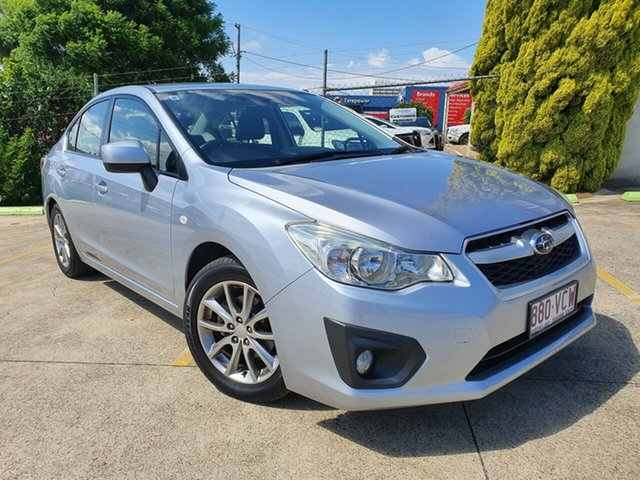 Used Subaru Impreza G4 MY14 2.0i AWD Toowoomba, 2014 Subaru Impreza G4 MY14 2.0i AWD 6 Speed Manual Sedan