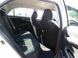 2008 Toyota Corolla ZRE152R Ascent White 6 Speed Manual Sedan