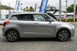 2020 Suzuki Swift AZ GLX Turbo Premium Silver 6 Speed Sports Automatic Hatchback.