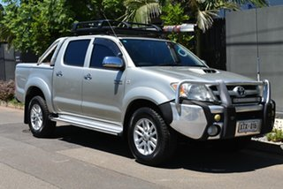 2008 Toyota Hilux KUN26R MY08 SR5 Silver 4 Speed Automatic Utility