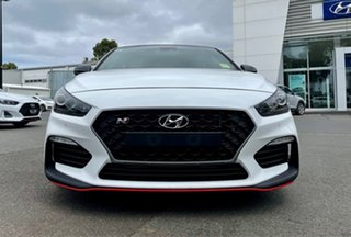2020 Hyundai i30 PDe.3 MY20 N Performance Lux S.Roof Polar White 6 Speed Manual Fastback.