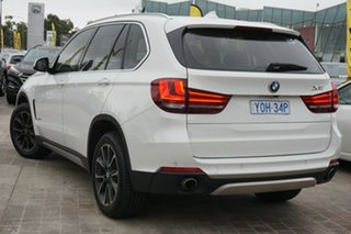 2016 BMW X5 F15 xDrive30d White 8 Speed Sports Automatic Wagon