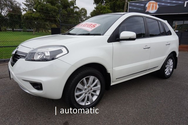 Used Renault Koleos H45 Phase III Expression Dandenong, 2014 Renault Koleos H45 Phase III Expression White 1 Speed Constant Variable Wagon
